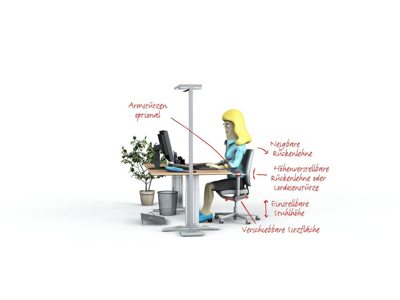 Büroeinrichtung   Bürostuhl
